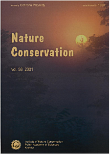 Nature Conservation Vol. 58 (2001)