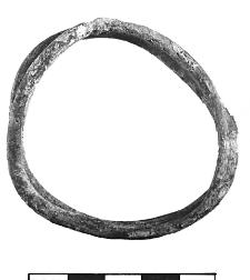 wire bracelet (Złota)