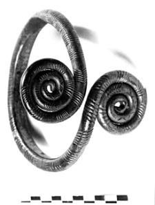 bracelet with spiral discs (Śliwniki)