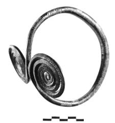 naramiennik z dwiema tarczami spiralnymi (Żyrardów)