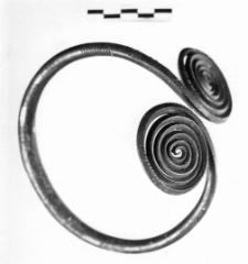 naramiennik z dwiema tarczami spiralnymi (Rawa Mazowiecka) - analiza metalograficzna