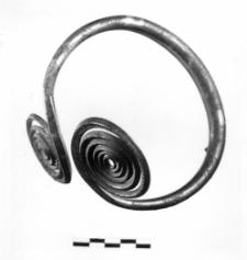 armlet with two spiral discs (Rawa Mazowiecka)