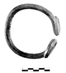 naramiennik z dwiema tarczami spiralnymi (Stawiszyce)