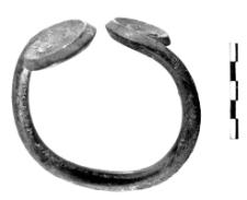 armlet with two spiral discs (Stawiszyce)