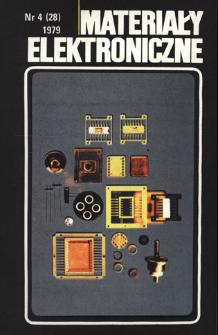 Materiały Elektroniczne 1979 nr 4(28)