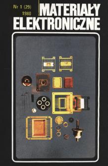 Materiały Elektroniczne 1980 nr 1(29)