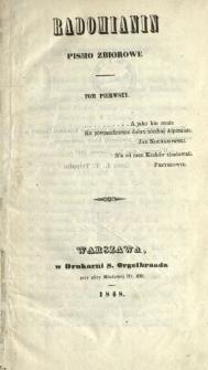 Radomianin : pismo zbiorowe