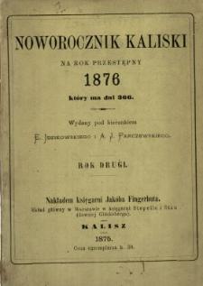 Noworocznik Kaliski na Rok ...
