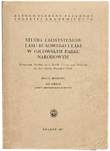 Studia Naturae No. 1 (1967)