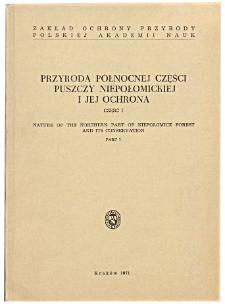 Studia Naturae No. 6 (1971)