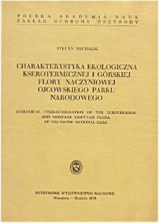 Studia Naturae No. 19 (1979)