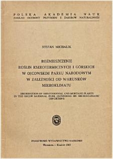 Studia Naturae No. 24 (1983)