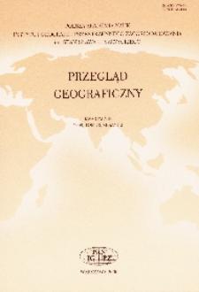Przegląd Geograficzny T. 82 z. 4 (2010)