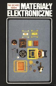 Materiały Elektroniczne 1984 nr 2(46)