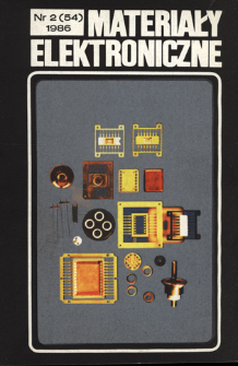 Materiały Elektroniczne 1986 nr 2(54)