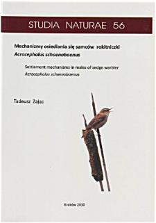Studia Naturae No. 56 (2010)