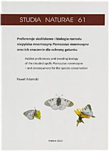 Studia Naturae No. 61 (2013)