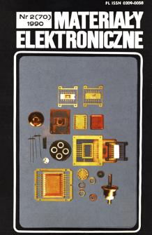 Materiały Elektroniczne 1990 nr 2(70)