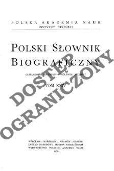 Polski słownik biograficzny T. 24 (1979), Olszamkowski Bolesław - Padlewski Zygmunt