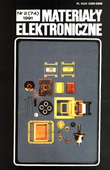 Materiały Elektroniczne 1991 nr 2(74)