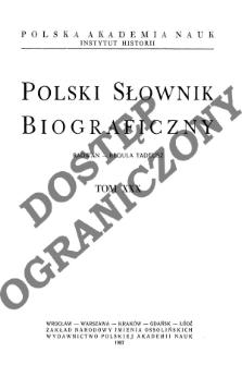 Polski słownik biograficzny T. 30 (1987), Radwan - Reguła Tadeusz