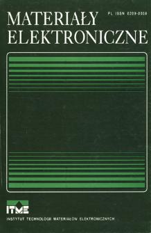 Materiały Elektroniczne 1996