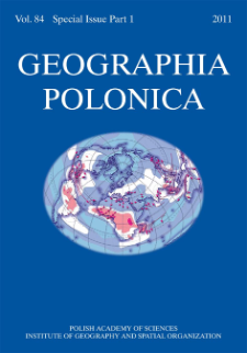 Geographia Polonica Vol. 84 Special Issue Part 1 (2011)