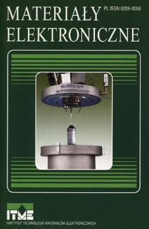 Materiały Elektroniczne 2009 = Electronic Materials 2009