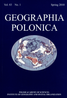 Geographia Polonica Vol.83 No.1 (2010)