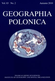 Geographia Polonica Vol.83 No.2 (2010)