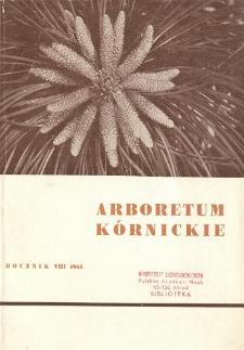 Rocznik VIII (1963)