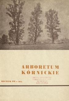 Rocznik XVI (1971)