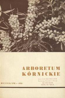 Rocznik XVII (1972)