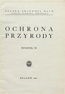 Ochrona Przyrody R. 33 (1968)