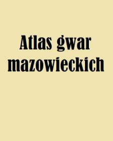 Atlas gwar mazowieckich