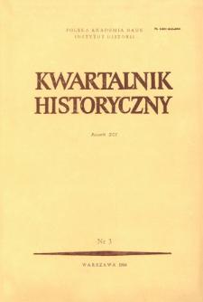 Kwartalnik Historyczny R. 91 nr 3 (1984)
