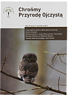 Let's protect Our Indigenous Nature Vol. 71 z. 1 (2015)