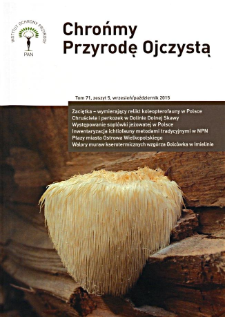 Let's protect Our Indigenous Nature Vol. 71 z. 5 (2015)