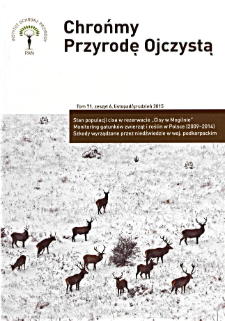 Let's protect Our Indigenous Nature Vol. 71 z. 6 (2015)