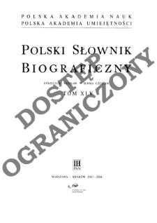 Polski słownik biograficzny T. 45 (2007-2008), Strzelecki Wiesław Marian - Surma Czesław