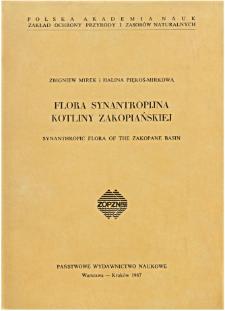 Studia Naturae No. 30 (1987)