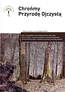 Let's protect Our Indigenous Nature Vol. 72 z. 2 (2016)