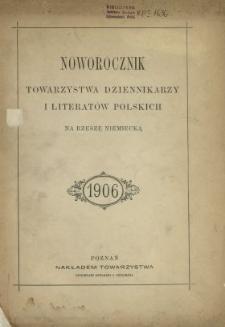 Noworocznik Towarzystwa Dziennikarzy i Literatów Polskich na Rzeszę Niemiecką