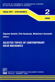Selected topics of contemporary solid mechanics