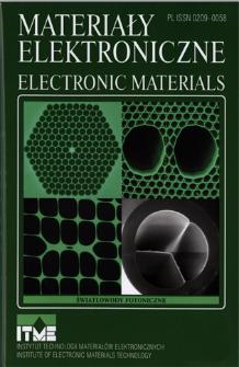 Materiały Elektroniczne 2012 = Electronic Materials 2012