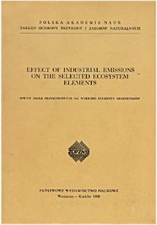 Studia Naturae Nr 31 (1988)