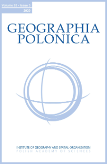 Geographia Polonica Vol. 93 No. 3 (2020)