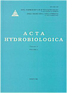 Acta Hydrobiologica Vol. 40 Fasc. 3 (1998)