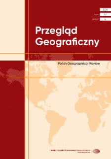 Przegląd Geograficzny T. 92 z. 4 (2020)