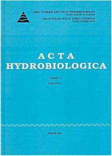 Acta Hydrobiologica Vol. 37 Fasc. 3 (1995)